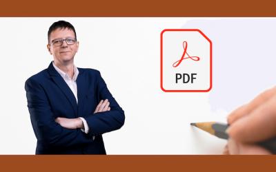 Hogyan égeted bele a saját szövegedet egy pdf nyomtatványba?